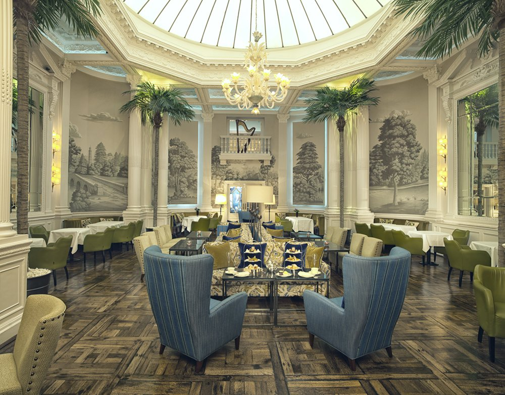 3.-The-Balmoral-Hotel--Edinburgh--Scotland.--English-Landscape--design-in-Crystal-Grey-colourway-on-scenic-paper.-Interior-design-by-Rocco-Forte-Hotel-Group-yeet-magazine