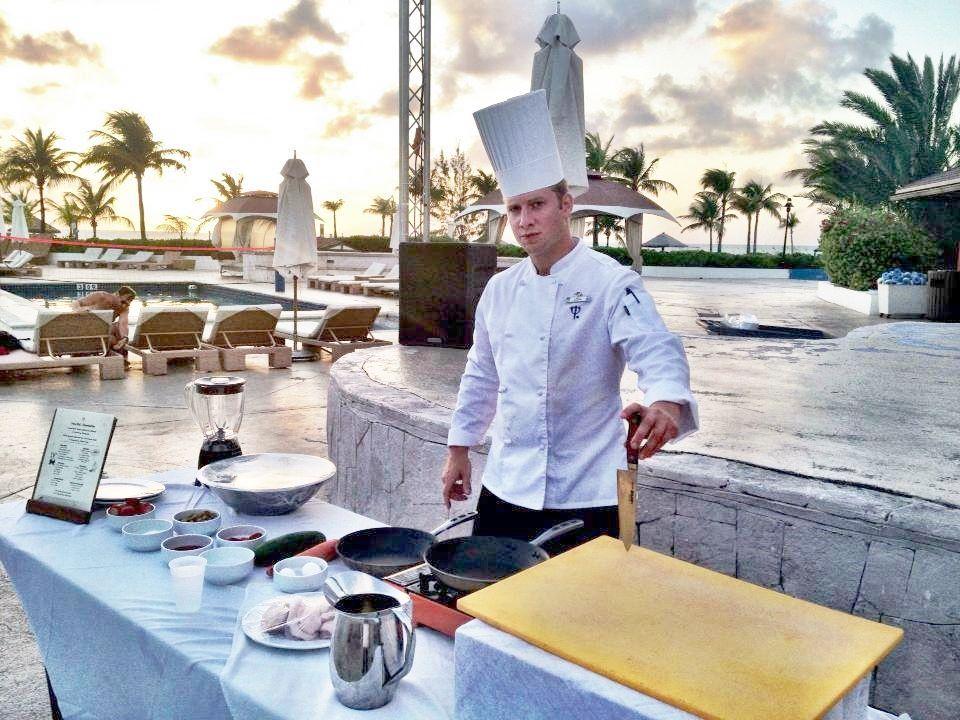 Montreal-born Chef Derek  Allen: The Star Chef Of Six Senses Zigy Bay Resort And Sense  On The  Edge  Fine Dinning Restaurants .