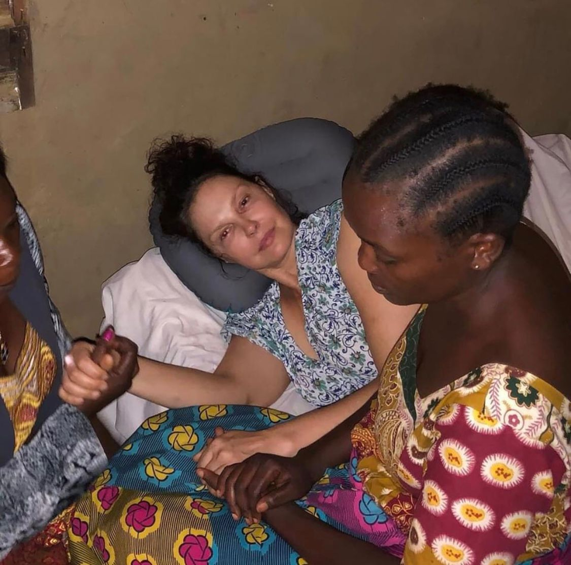 YEET Exclusive:  Inside Actress Ashley Judd's Hospitalization In RD-Congo After Serious Car Accident In The Forest.