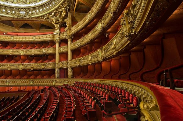 Enjoy the Stunning Paris Opera House and all of it's Small Secrets