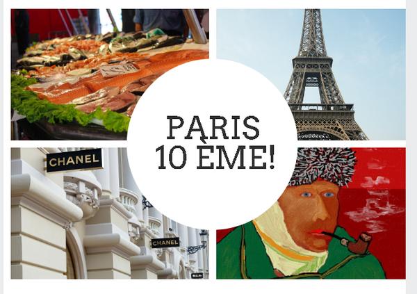 Paris 10 ème arrondissement.