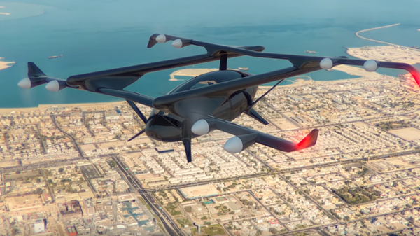 VIDEO: The 'flying taxi' that promises to give you wings.