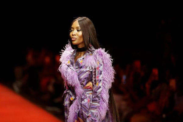 Supermodel Naomi Campbell urges 'Vogue' to launch African edition.