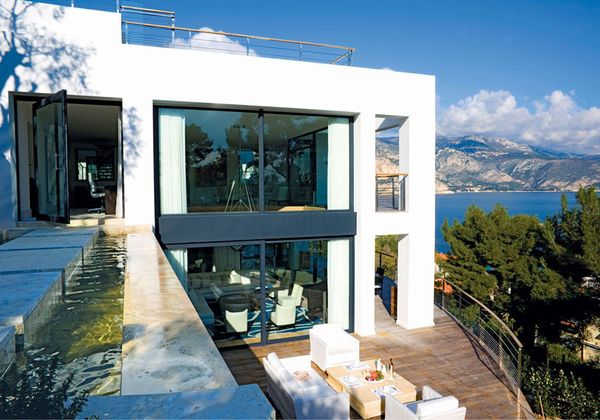 At Home In Spectacular Villa Med: A French Riviera Hideaway Overlooking The Superyacht Circuit.