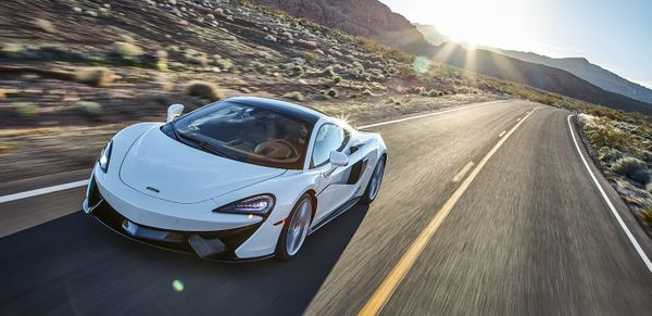 A McLaren 570GT for The Journey.