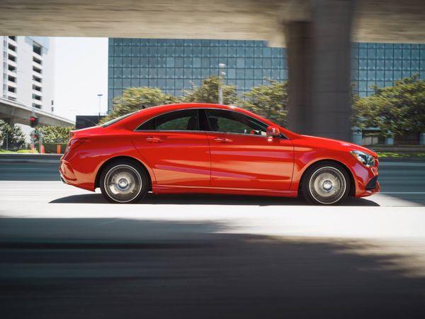 Spell 'temptation': Mercedes-Benz CLA.