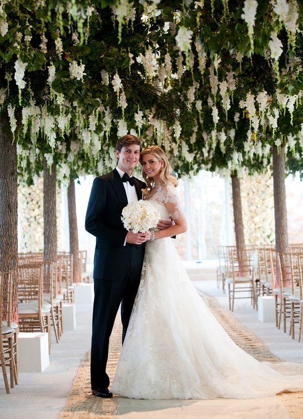 Inside the lavish wedding of #Ivanka #Trump -  Her $100.000 #wedding #dress.