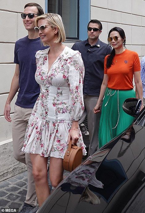 Ivanka Trump, Prince Harry and Meghan Arrive for A-List Wedding in Rome.