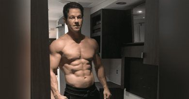 "Mark Wahlberg"", Instagram. ""48-Yr-Old Mark Wahlberg Shows Off Insanely Chiseled Body After 45-Day Challenge: 'Age Is Just A Number"