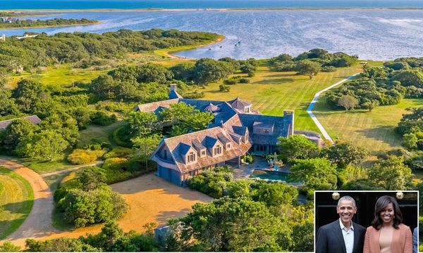 Inside Barack and Michelle Obama's huge $11.75m mansion in Martha's vineyards, exclusive photos of their brand new Massachusetts mansion