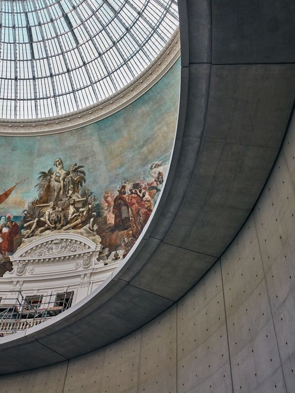 Bourse De Paris:  After a nearly $170 million redevelopment, Paris's 130-year-old Bourse de Commerce will reopen next year as a contemporary art museum