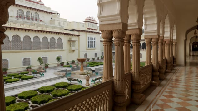 SPIRIT OF INDIA Live like Rajasthani royalty at this 475-year-old palace hotel.
