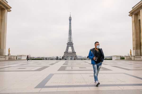 Arriving In  Paris During Lockdown: Feelings And Expectations Of A Newly Landed Expat.