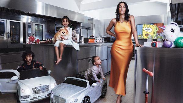Kim Kardashian Unveils First   Cover of Vogue US Since Divorcing Kanye West