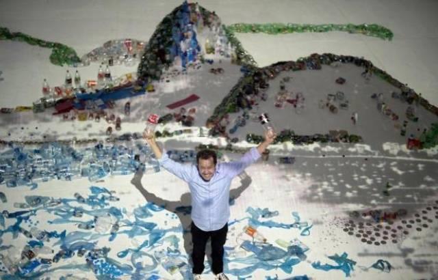 Vik Muniz Creates Works Of Art From Waste. YEET MAGAZINE Interviewed Him.