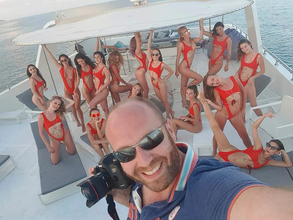 Shameless Playboy Behind 'Butt Squad' Balcony Shot Now Secret Flogging VIDEO Nude moments Before Arrest