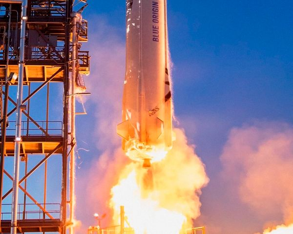 Space Trip With Jeff Bezos Sold At Auction For US $ 28 Million