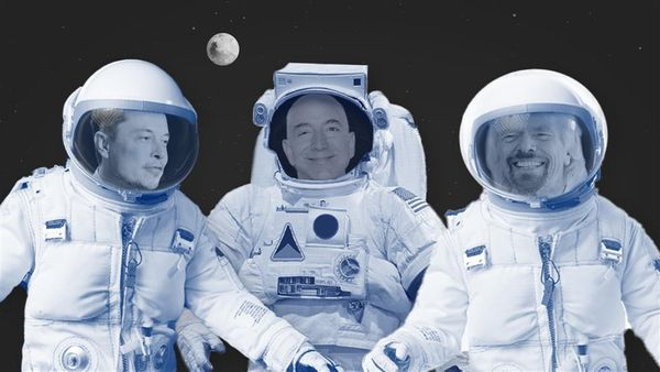 Branson, Bezos And Musk- The Business Of Space By World's Tycoons