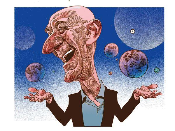 Jeff Bezos: space, his new playground