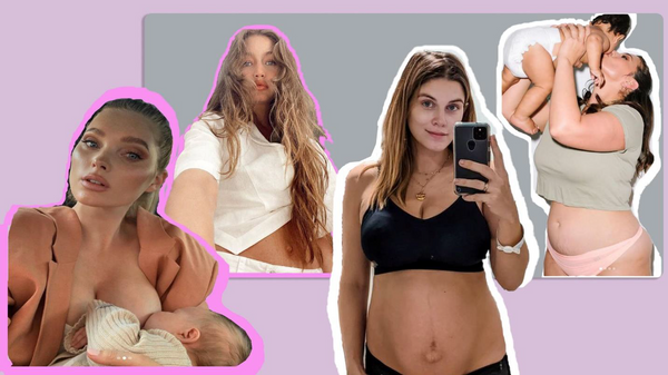 Self-Love : These Model Moms Embrace Post-Baby Body And Aren't Afraid To Show It On Instagram