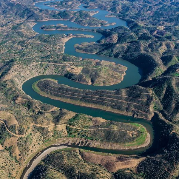 The Fascinating Tale Of The  Odeleite, The Blue Dragon River In Portugal And Europe's Biggest Mystery